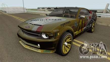 Ford Mustang GT Fastback PiBwasser para GTA San Andreas