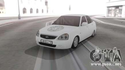 Lada Priora De Vinilo para GTA San Andreas