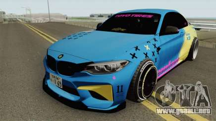 BMW M2 LowCarMeet para GTA San Andreas