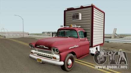 Chevrolet Apache HQ para GTA San Andreas