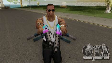 SMG GTA V para GTA San Andreas
