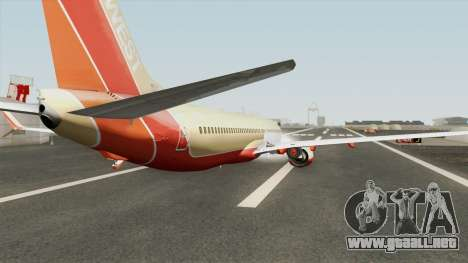 Boeing 737-800 Southwest Airlines (Desert Gold) para GTA San Andreas