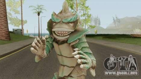 Half Fish-Man Or Moat Monster para GTA San Andreas