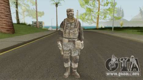 Skin 4 (Spec Ops: The Line - 33rd Infantry) para GTA San Andreas