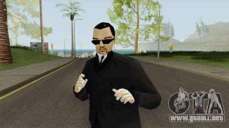 Leone Mafia (GTA III) With Glasses para GTA San Andreas