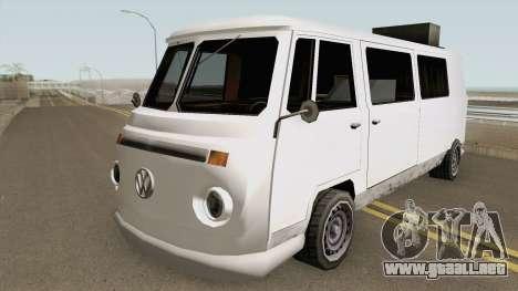 Volkswagen Kombi (Camper) TCGTABR para GTA San Andreas