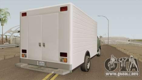 Brute BoxCar GTA V para GTA San Andreas
