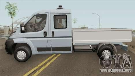 Peugeot Boxer Pickup Double Cabin para GTA San Andreas