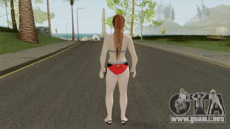 Kasumi Racing Car Girl para GTA San Andreas