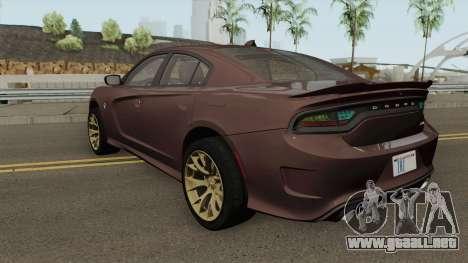 Dodge Charger Hellcat 2015 para GTA San Andreas