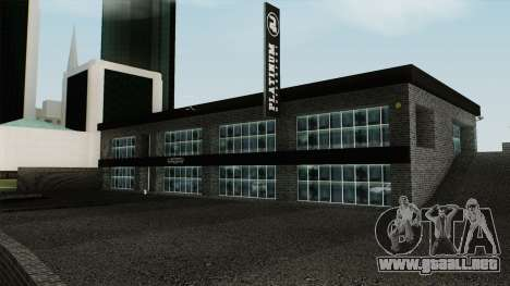 Platinum Motorsport Showroom para GTA San Andreas