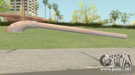 Iron Rust Water Pipe para GTA San Andreas