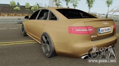 AUDI RS6 C6 ROMANIA para GTA San Andreas