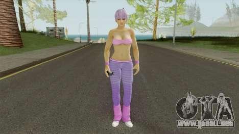 Ayane DOA5 Reskinned para GTA San Andreas