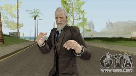 Morgan Lansdale From Resident Evil: Revelations para GTA San Andreas