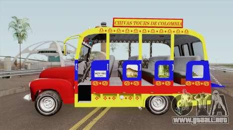 GMC 3100 Bus Escalera para GTA San Andreas