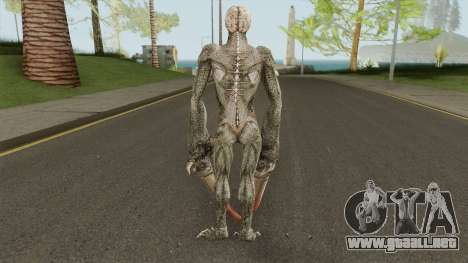 Licker V2 (Resident Evil: The Darkside Chronic) para GTA San Andreas