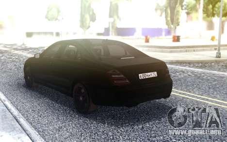 Mercedes-Benz S65 W221 para GTA San Andreas