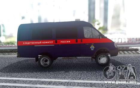 GAZelle 33023 Comité de Investigación de la Fede para GTA San Andreas