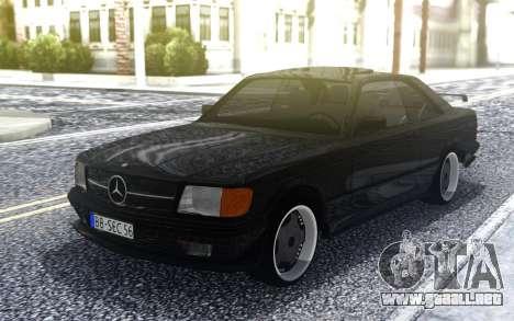 Mercedes-Benz  560 SEC AMG para GTA San Andreas