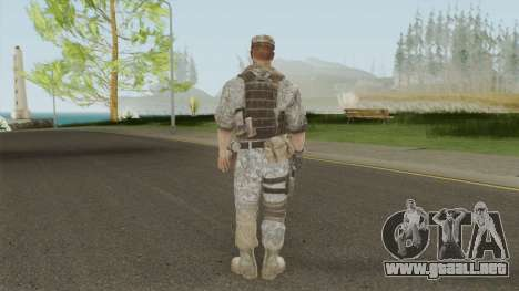 Skin 1 (Spec Ops: The Line - 33rd Infantry) para GTA San Andreas