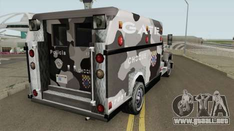 Enforcer GATE SP TCGTABR para GTA San Andreas