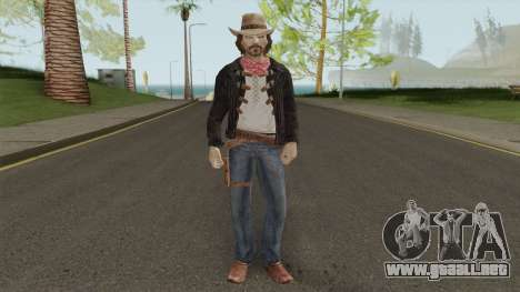 Thomas McCall From Call of Juarez para GTA San Andreas