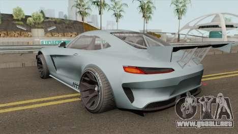 Benefactor Schlagen GT3 GTA V para GTA San Andreas