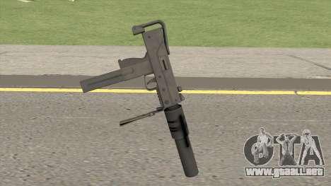 MAC-10 Suppressed HQ para GTA San Andreas