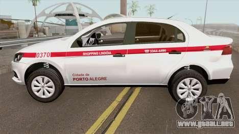 Volkswagen Voyage (Taxi) Cidade de Porto Alegre para GTA San Andreas