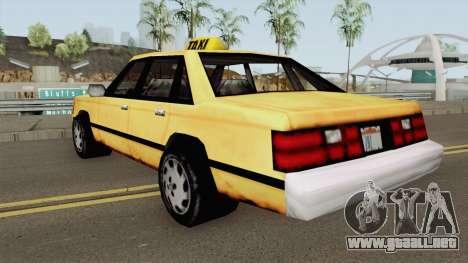 Taxi BETA para GTA San Andreas