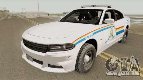 Dodge Charger 2015 SASP RCMP para GTA San Andreas