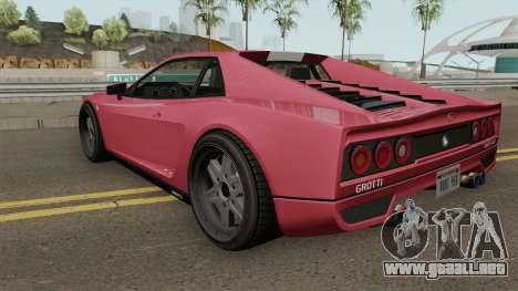 Grotti Cheetah Classic GTA V para GTA San Andreas