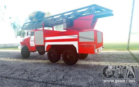 Ural 4320 ATSL para GTA San Andreas