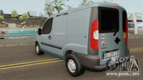 Fiat Doblo Van 2009 para GTA San Andreas