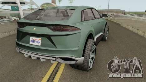 Pegassi Toros GTA V IVF para GTA San Andreas