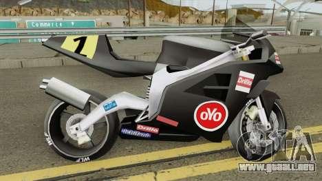 Beta NRG-500 para GTA San Andreas