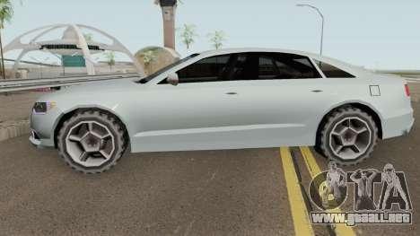 Audi A6 LQ V2 Tunable para GTA San Andreas