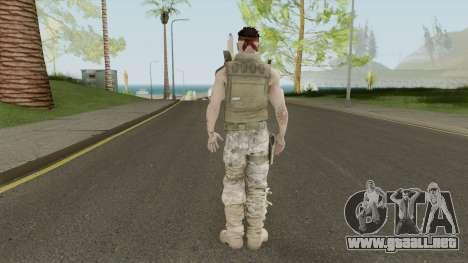 Commando (Spec Ops: The Line - 33rd Infantry) para GTA San Andreas