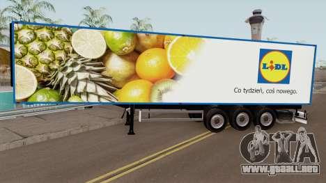 Polish Supermarkets Trailer para GTA San Andreas