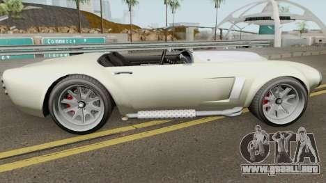 Declasse Mamba (r2) GTA V para GTA San Andreas