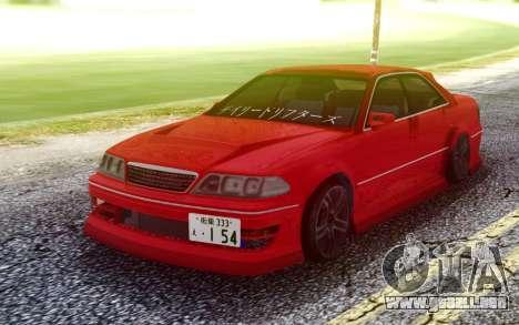 Toyota Mark II JZX100 para GTA San Andreas