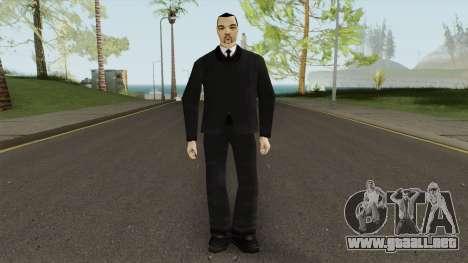 Leone Mafia (GTA III) Without Glasses para GTA San Andreas