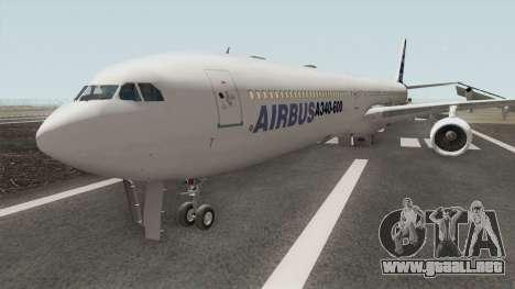 Airbus A340-600 para GTA San Andreas