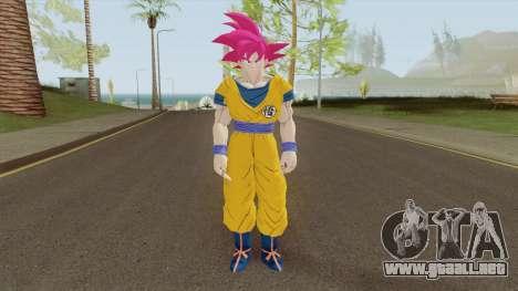 Goku SSJ God para GTA San Andreas