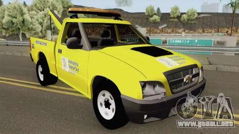 Chevrolet S10 Guincho Auto Pista Litoral Sul para GTA San Andreas
