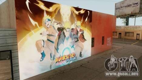 Naruto Shippuden Wall para GTA San Andreas