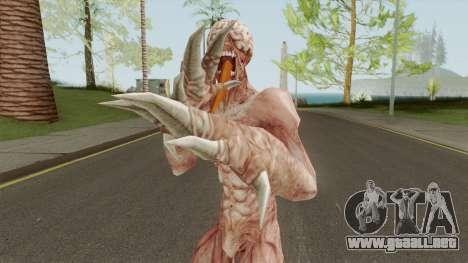 Licker V1 (Resident Evil: The Darkside Chronic) para GTA San Andreas