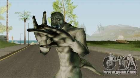Ninja Lizard Player Skin para GTA San Andreas