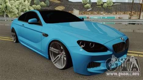 BMW M6 SlowDesign 2013 para GTA San Andreas